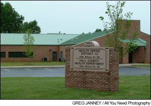 Hall County Health Department